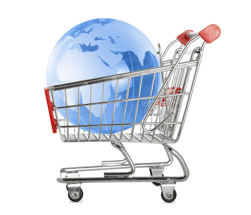 Global Shopping Royalty Free Stock Photo
