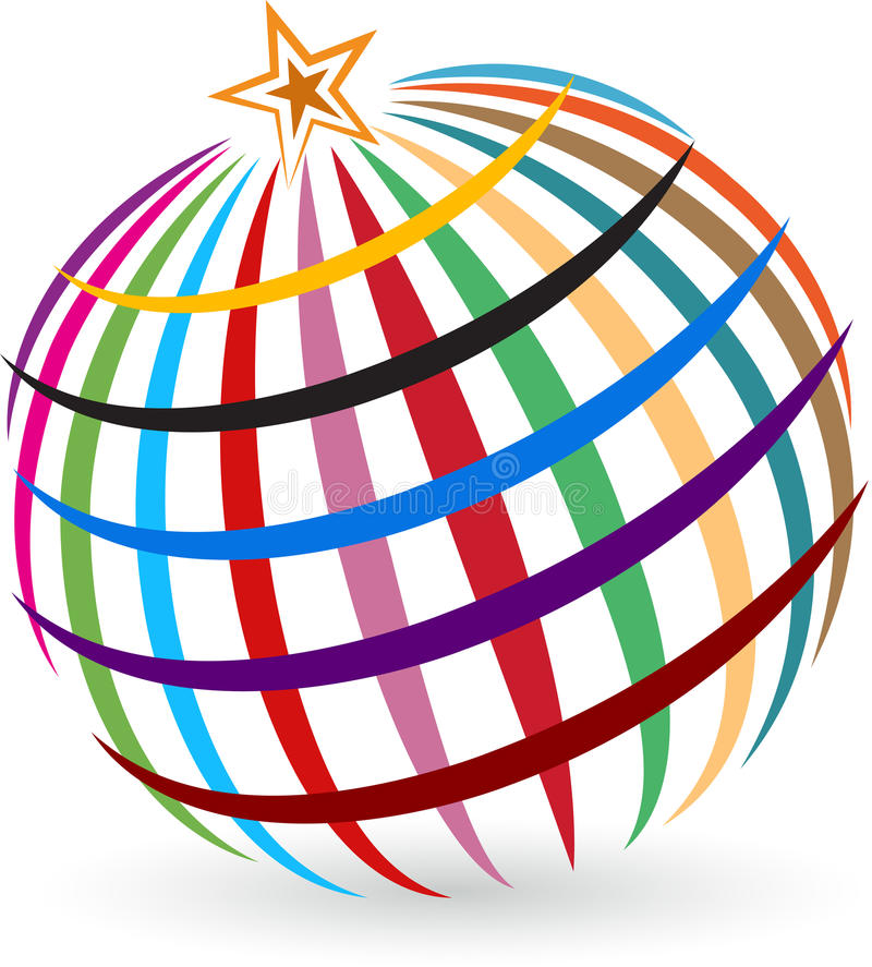 Download Global star logo stock vector. Image of business, circle - 37413576