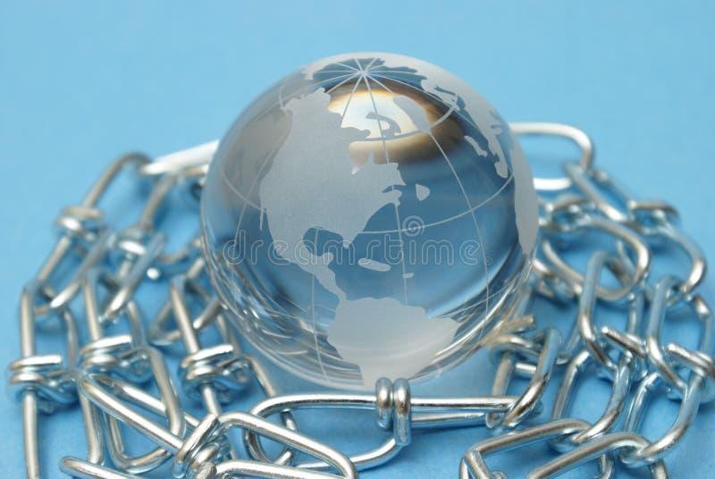 global stryka arkivfoto