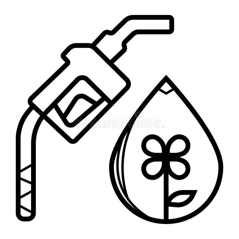 global tanka symbol Best?ndsdel av fossila br?nslensymbolen stock illustrationer