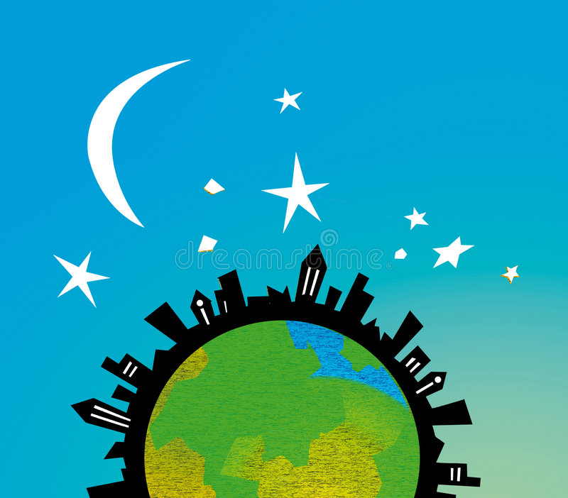 Global township stock image
