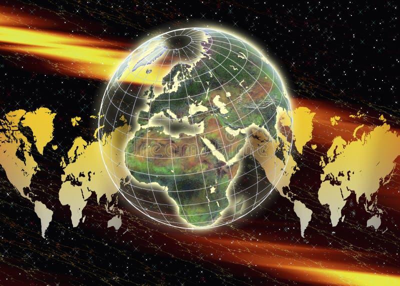 Download Global Travel & Business stock illustration. Image of globe - 28278540