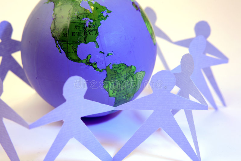 Global unity stock photography