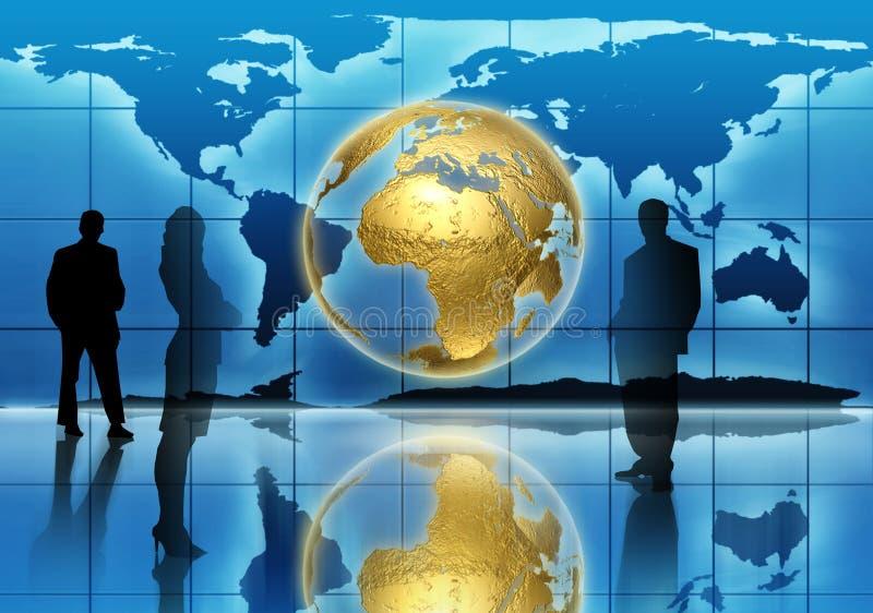 global utveckling stock illustrationer