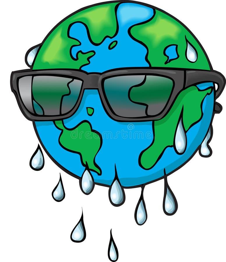 Download Global värme vektor illustrationer. Illustration av miljö - 3545967