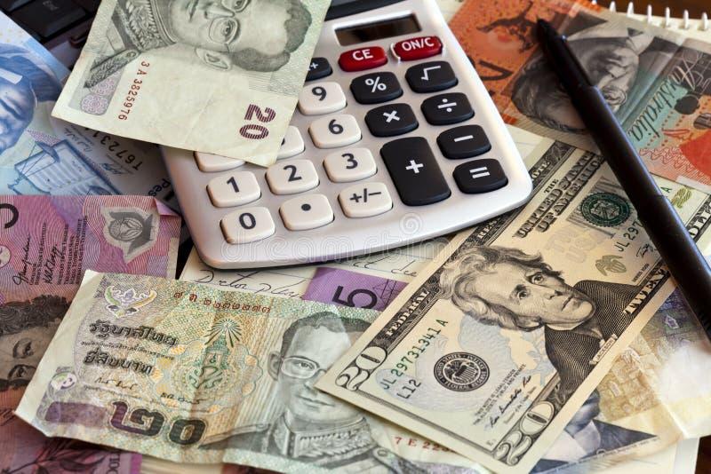 global valuta arkivbild