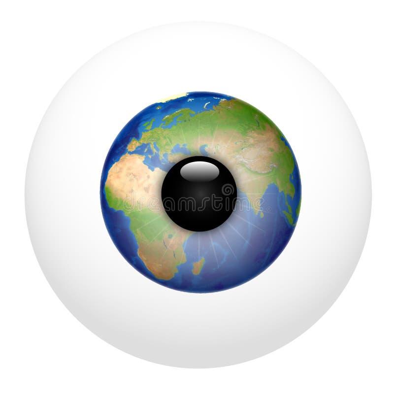 Global Vision Europe Royalty Free Stock Image