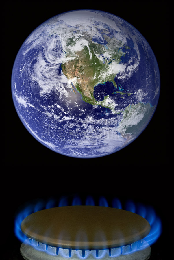 Global_warming-02 illustration de vecteur