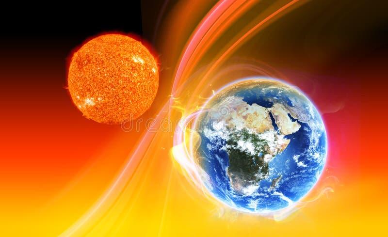 Download Global Warming stock illustration. Illustration of planet - 19626754