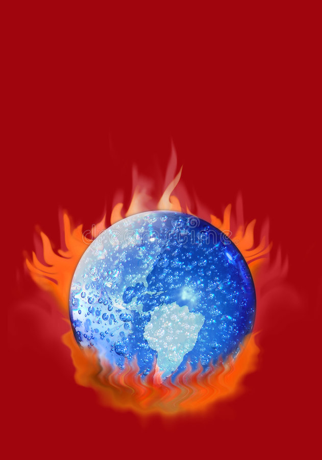 Global Warming vector illustration