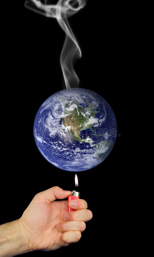 Download Global Warming stock image. Image of issues, planet, smoke - 2887995