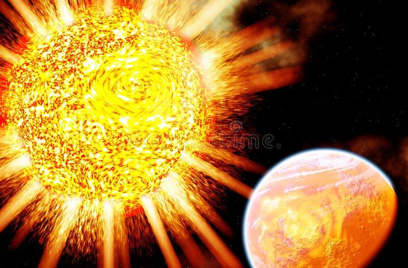 Download Global Warming stock illustration. Image of planet, change - 592855