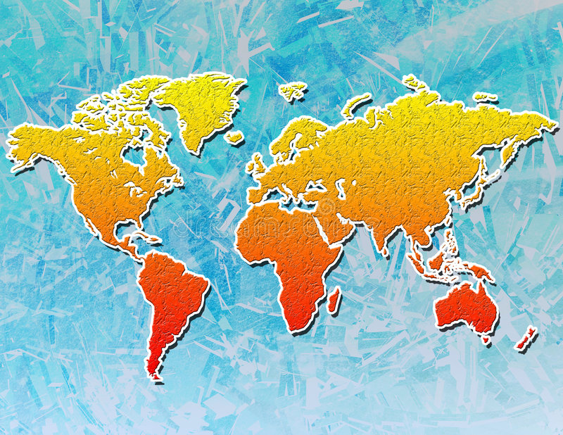 Download Global Warming stock illustration. Image of asia, geography - 81202