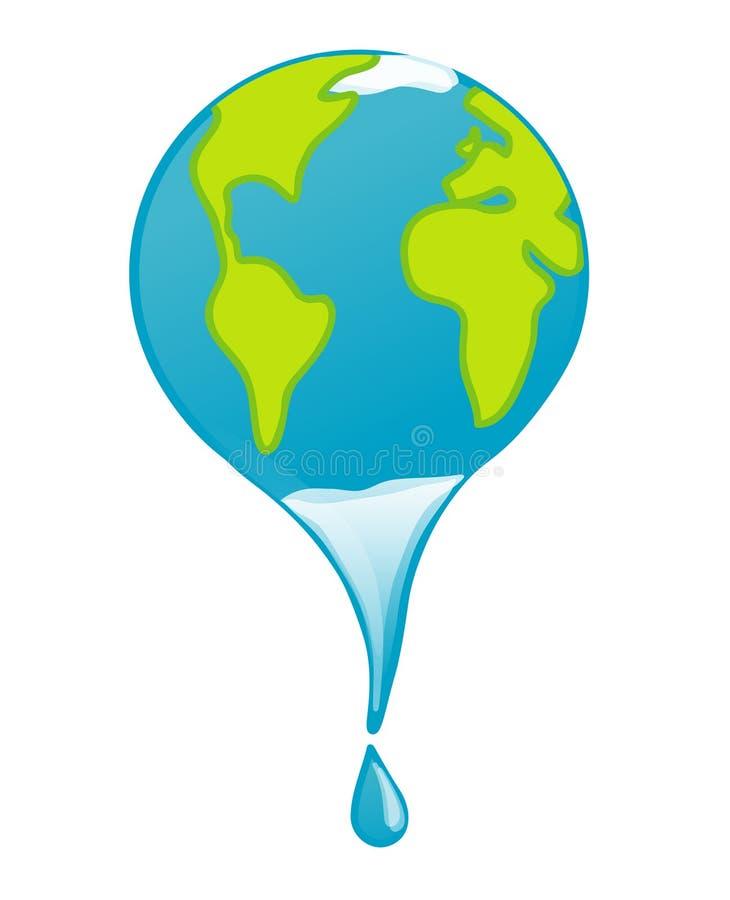 Global warming royalty free illustration