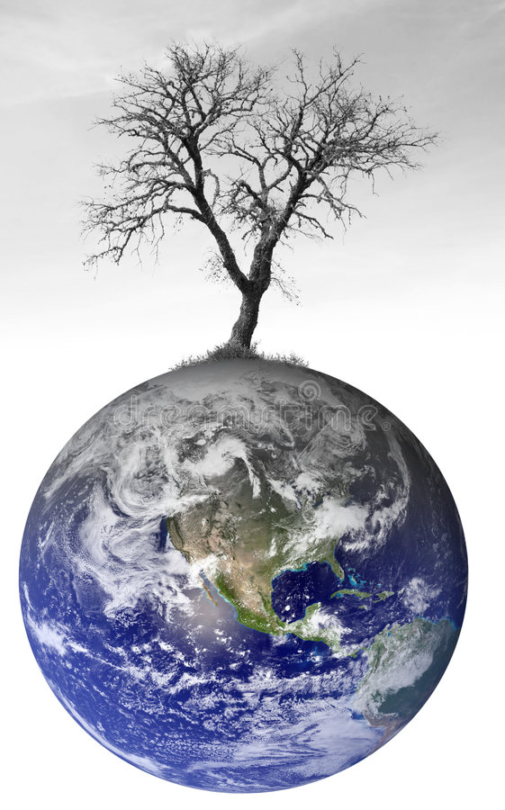 Global warming concept royalty free stock photography