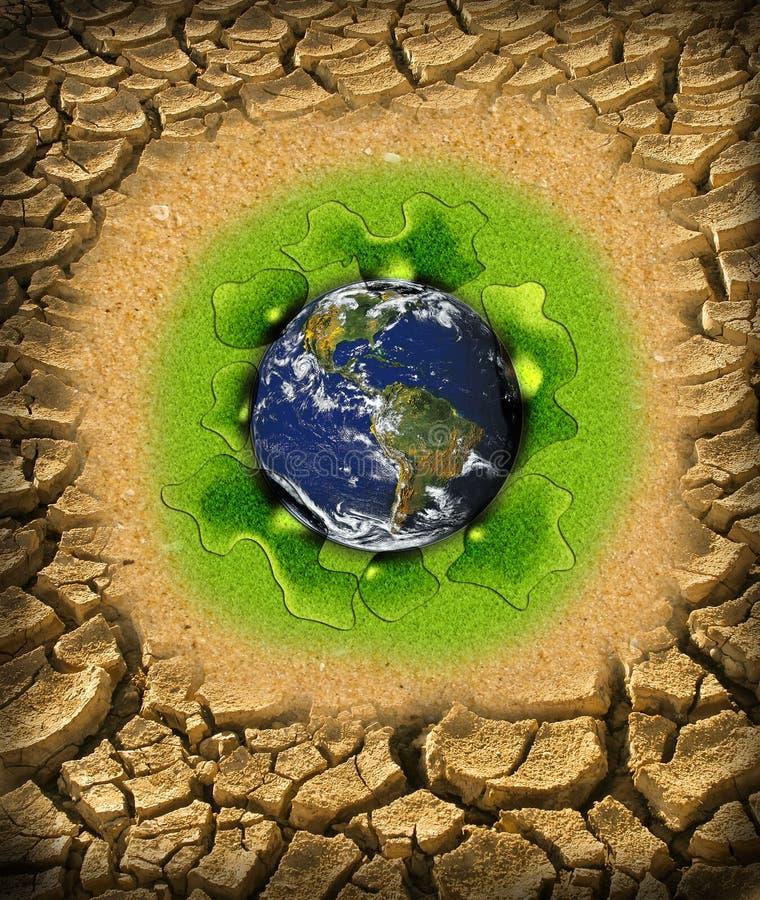 Global warming concept royalty free stock photos