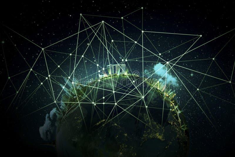 globala internet för bäst affärsidé arkivfoton