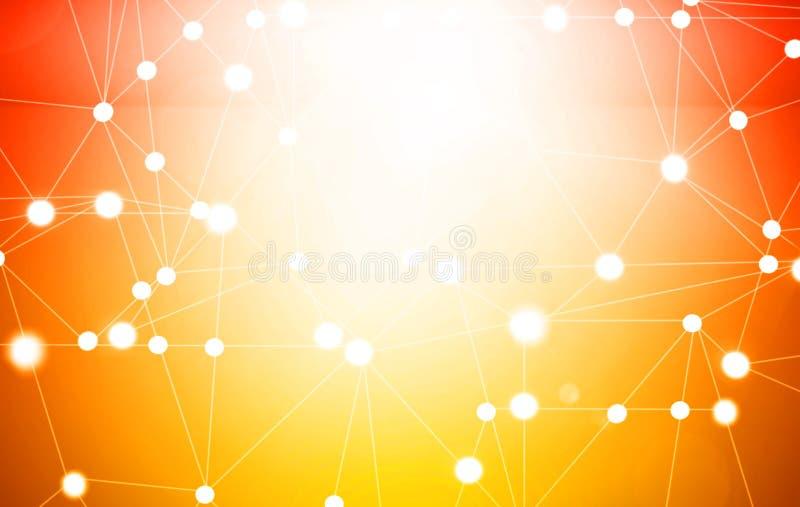 globala internet för bäst affärsidé teknologisk bakgrund Elektronik Wi-Fi, strålar, symboler av internet stock illustrationer