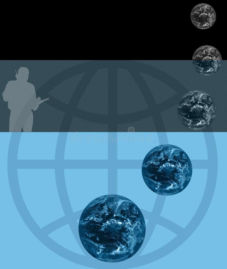 globala kommunikationer royaltyfri illustrationer