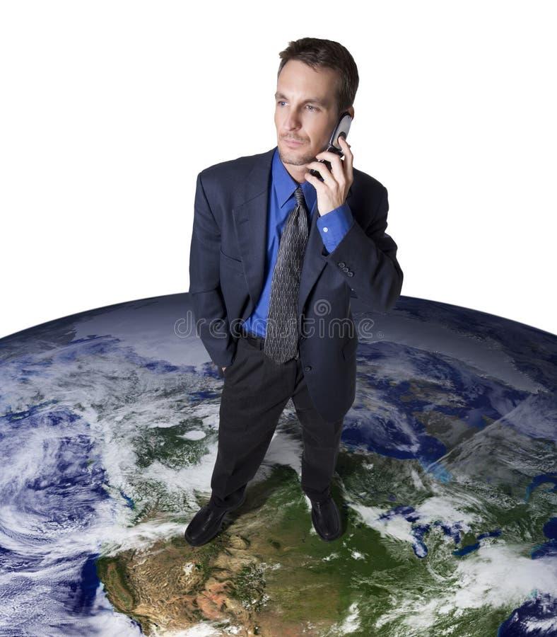 globala kommunikationer arkivbild