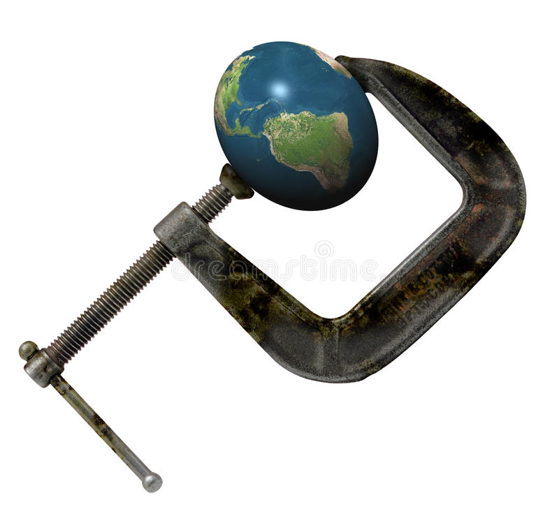 Globala Presure royaltyfria foton