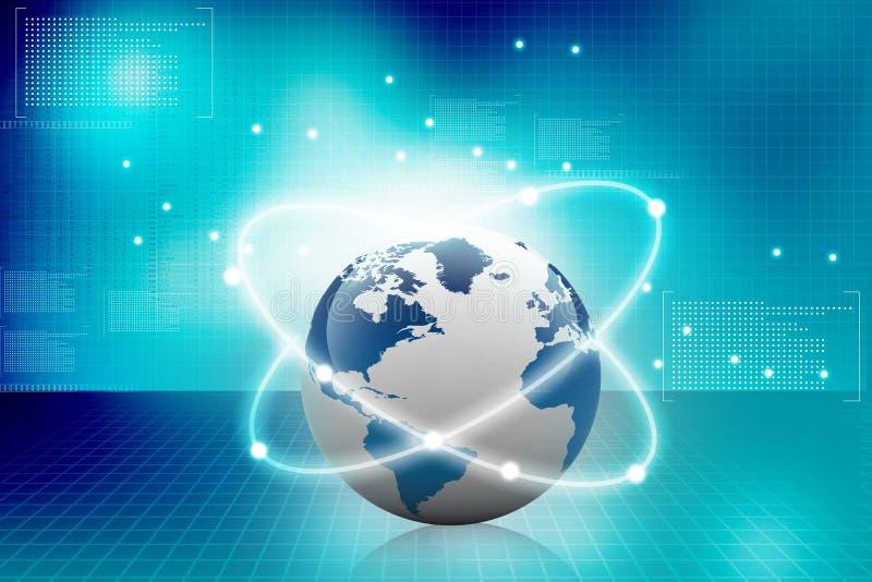 Globale aanslutingen royalty-vrije illustratie
