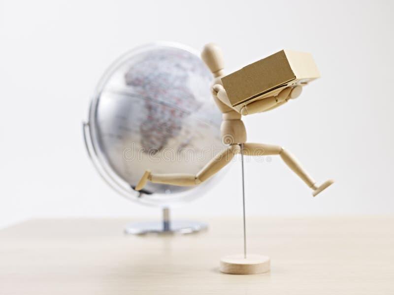 Globale Anlieferung lizenzfreie stockbilder