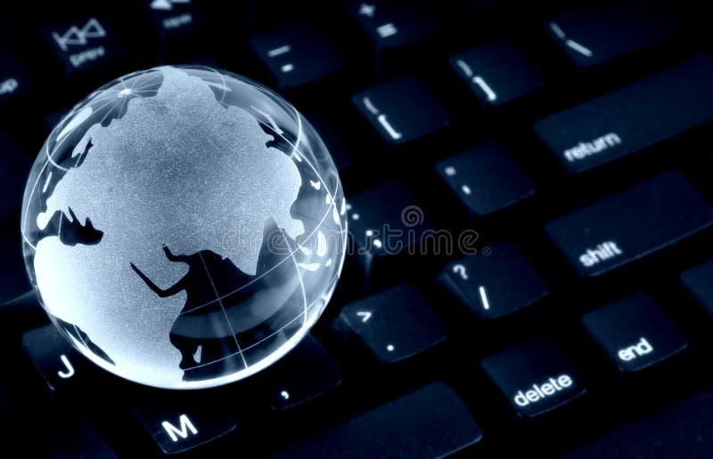 Globale Datenverarbeitung stockfotografie