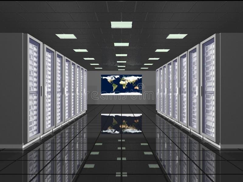 Globale Datenverarbeitung modern lizenzfreie stockfotos