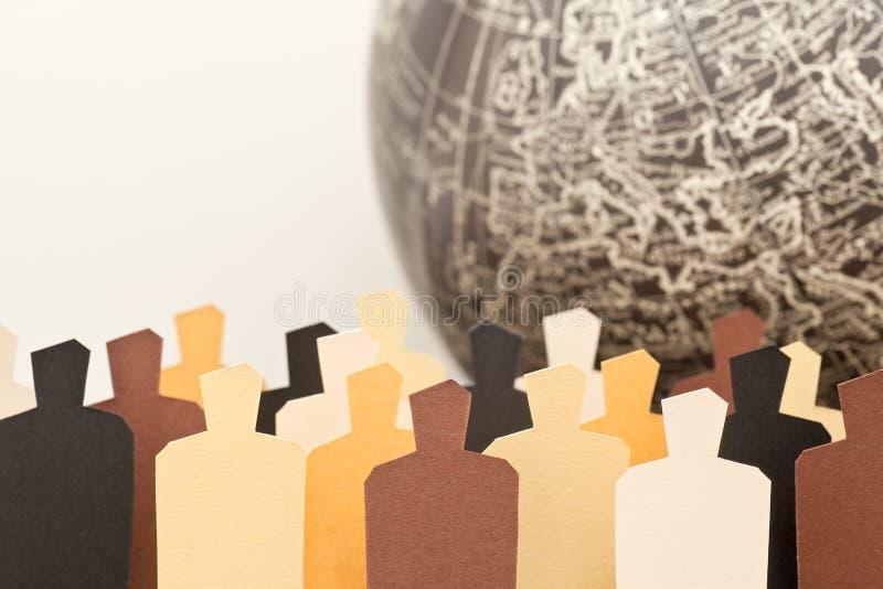 Globale diversiteit stock foto