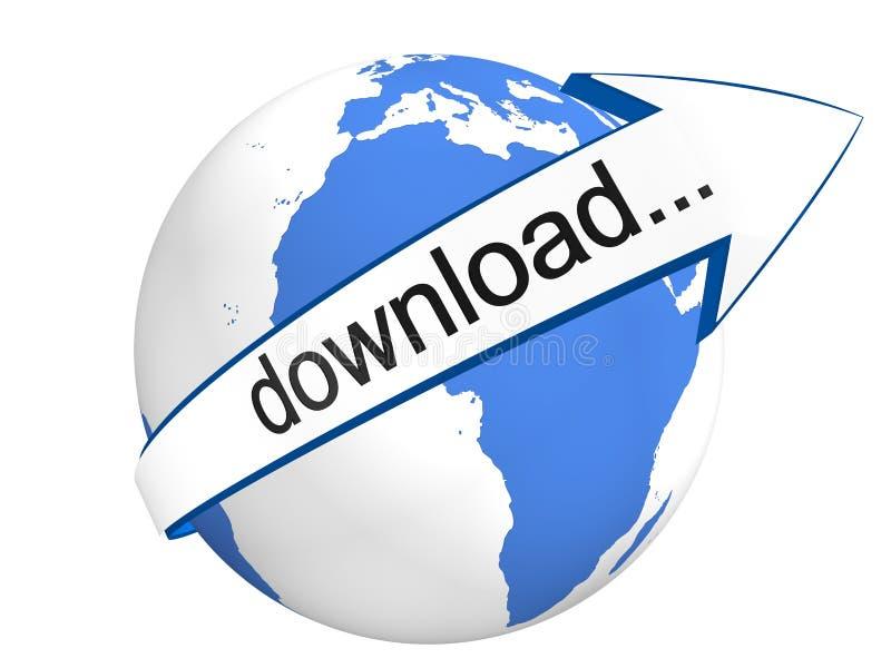 Globale Download royalty-vrije illustratie