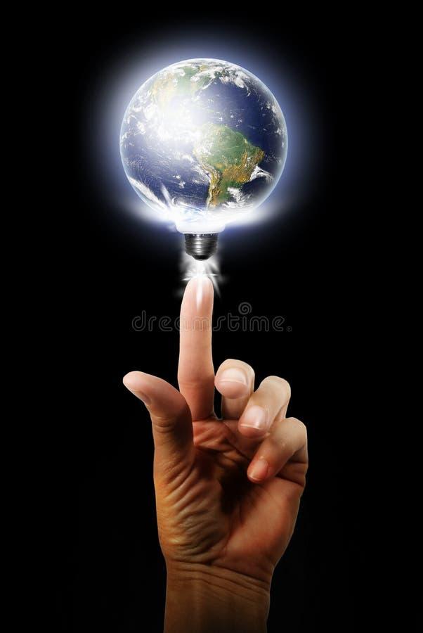 Globale energie royalty-vrije stock afbeeldingen