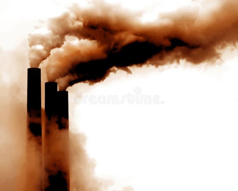 Globale Erwärmung lizenzfreies stockfoto