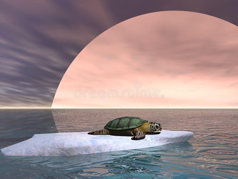 Globale Erwärmung-Konzept lizenzfreie abbildung
