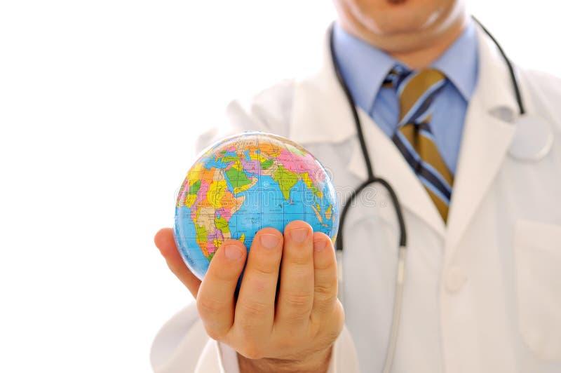 Globale Gezondheidszorg stock afbeelding