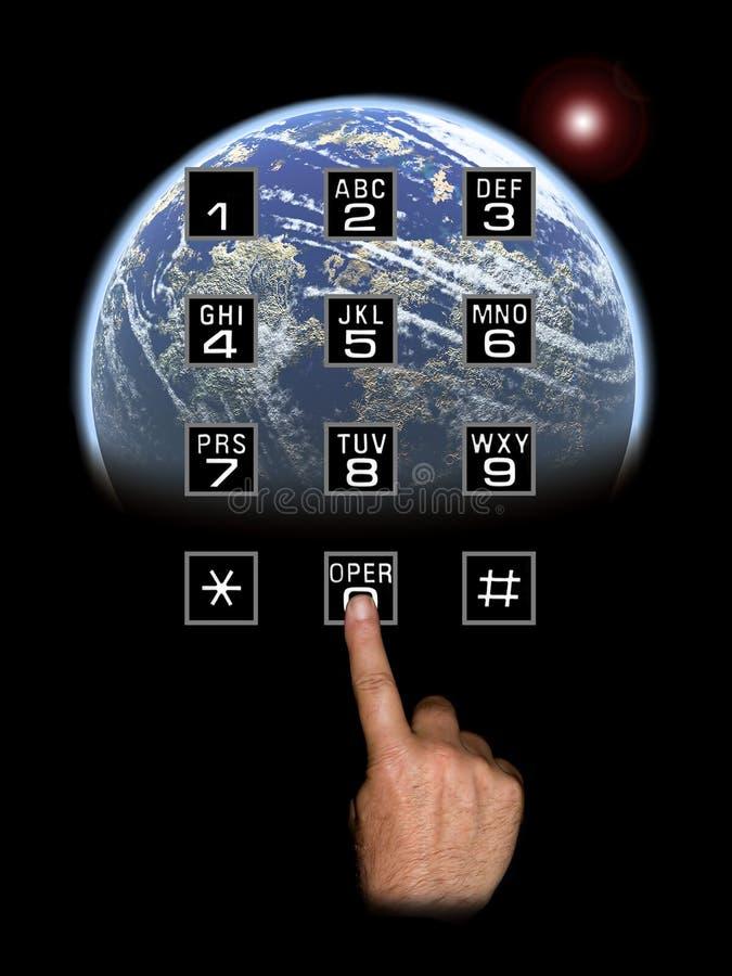 Globale Kommunikationen lizenzfreie stockfotografie