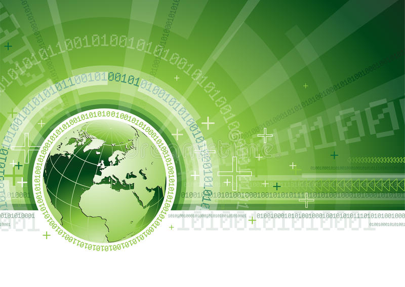 Globale Kommunikations-Konzept vektor abbildung