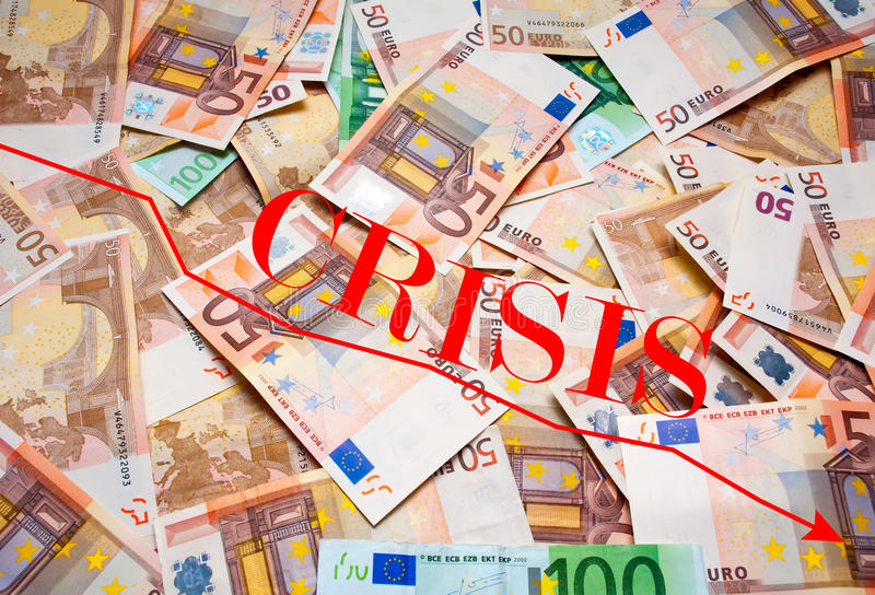 Globale Krise stockfotografie