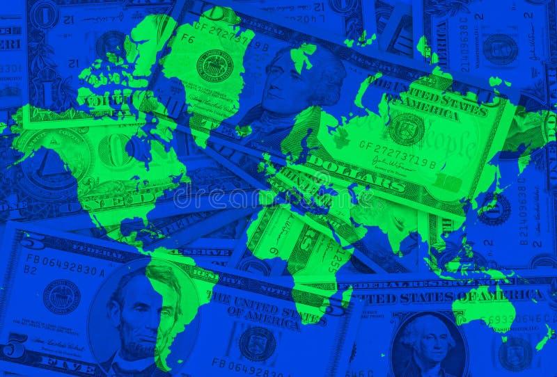 Globale Krisen stock abbildung