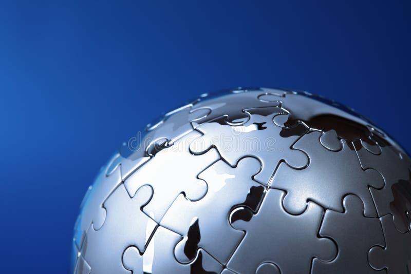 Globale Lösung lizenzfreie stockbilder