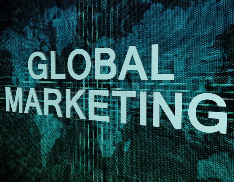 Globale Marketing stock illustratie