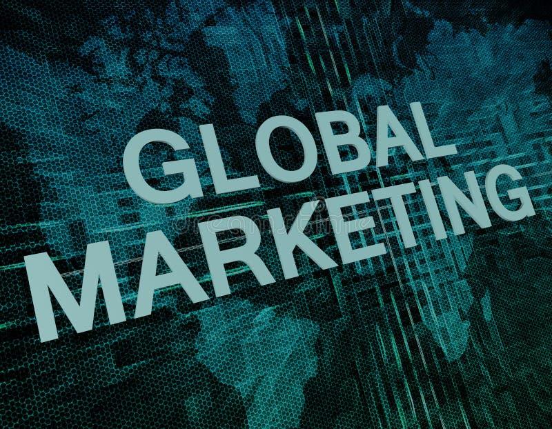 Globale Marketing stock foto's