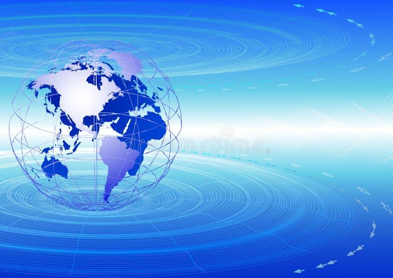 Globale mededelingen. stock illustratie
