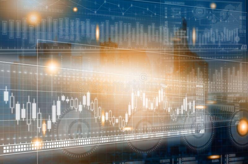 Globale netwerkverbinding Het concept van de wereldkaart globale zaken stock afbeelding