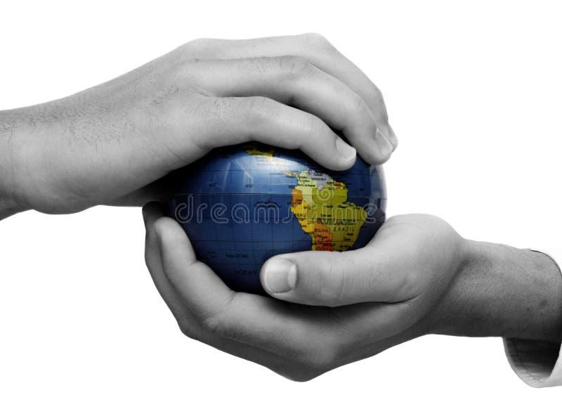 Globale Teamwork stockfotos