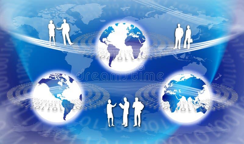 Globale Technologie vektor abbildung