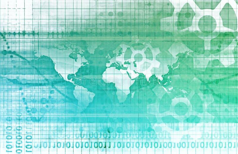 Globale Teilhaberschaft lizenzfreie abbildung