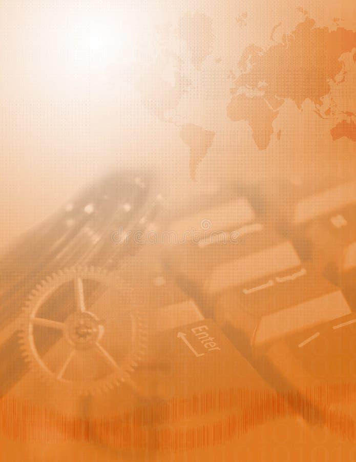 Globale Wirtschaftlichkeit lizenzfreie abbildung