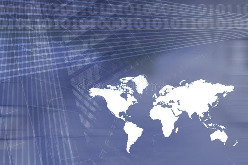 Globale Wirtschaftlichkeit-Geschäfts-Hintergrund vektor abbildung