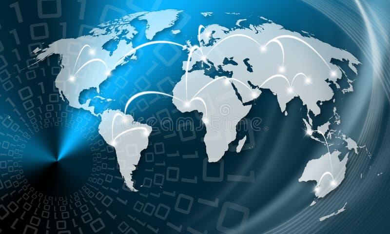 Globale zaken royalty-vrije illustratie